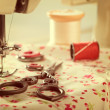 Vintage Sewing Items — Stock Photo #45929631