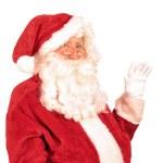 Santa Claus Waving Hand — Stock Photo #49220505