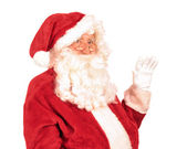 Santa Claus Waving Hand — Stock Photo