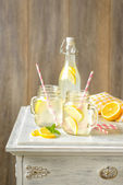 Lemonade Drinks — Stock Photo