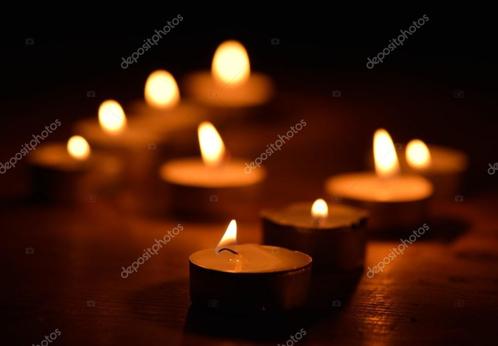 Warm and decorative candlelight — Stock Photo #14801583