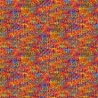 Colorful fabric - seamless tileable texture — Stock Photo