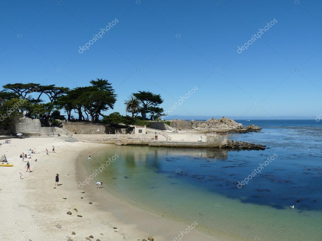 Beautiful view of the ocean in California — Stock Photo #12457411