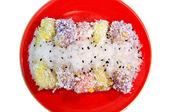 Thai desserts, sweet — Stock Photo