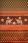 Thai silk — Stock Photo