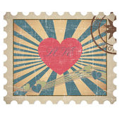 Loving heart — Stock Vector
