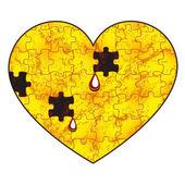 Chore serce — Wektor stockowy