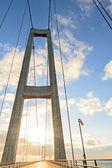 Gate Bridge in the sunshine — Stock Photo