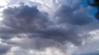Rain clouds, rain passes. TimeLapse — Stock Video