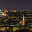 Stock Photo: Night Oslo, Valerengkirke, Norway