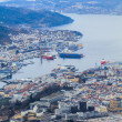 Port of Bergen, Norway — Stock Photo