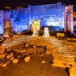 Stock Photo: Forum of Augustus night. Rome, Italy