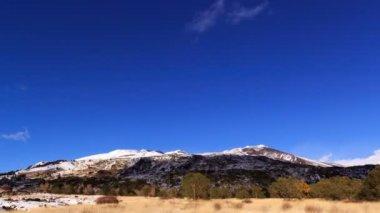 Encosta do monte etna. — Vídeo stock