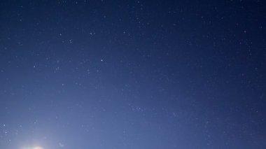 Gwiaździste niebo — Wideo stockowe