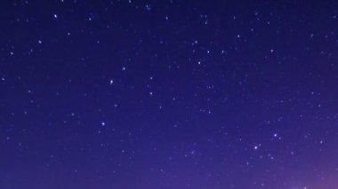 Starry sky — Stock Video