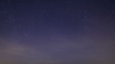 Stars in fog — Wideo stockowe