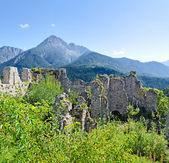 城堡小记 — 图库照片