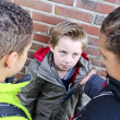 Bullying boys - Stock Photo