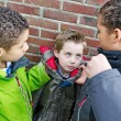 Bullying boys — Stock Photo