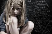 虐待儿童 — 图库照片