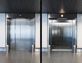 Elevator doors — Stock Photo