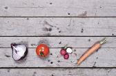 有機食品の概念 — ストック写真