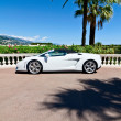 Concept of wealth, sports car in Monaco — Stock Photo