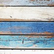 Wooden panel in nautical colors — Stock Photo #31973373
