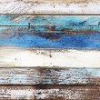 Wooden panel in nautical colors — Stock Photo #31973987