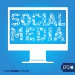 Social media vector icons — Stock Vector