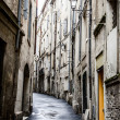 Alley in Montpellier — Stock Photo
