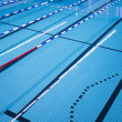 Pool with swimming lanes — Stock Photo #35721373