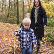 Family in forest — Stock Photo #37572389