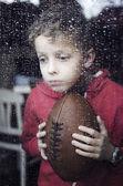 Bored little boy — Stock Photo