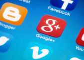 Google plus — Stock Photo