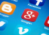 Google plus — Stock Photo