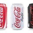 Coca cola soda cans — Stock Photo #39420667