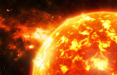 Sun flare — Stock Photo