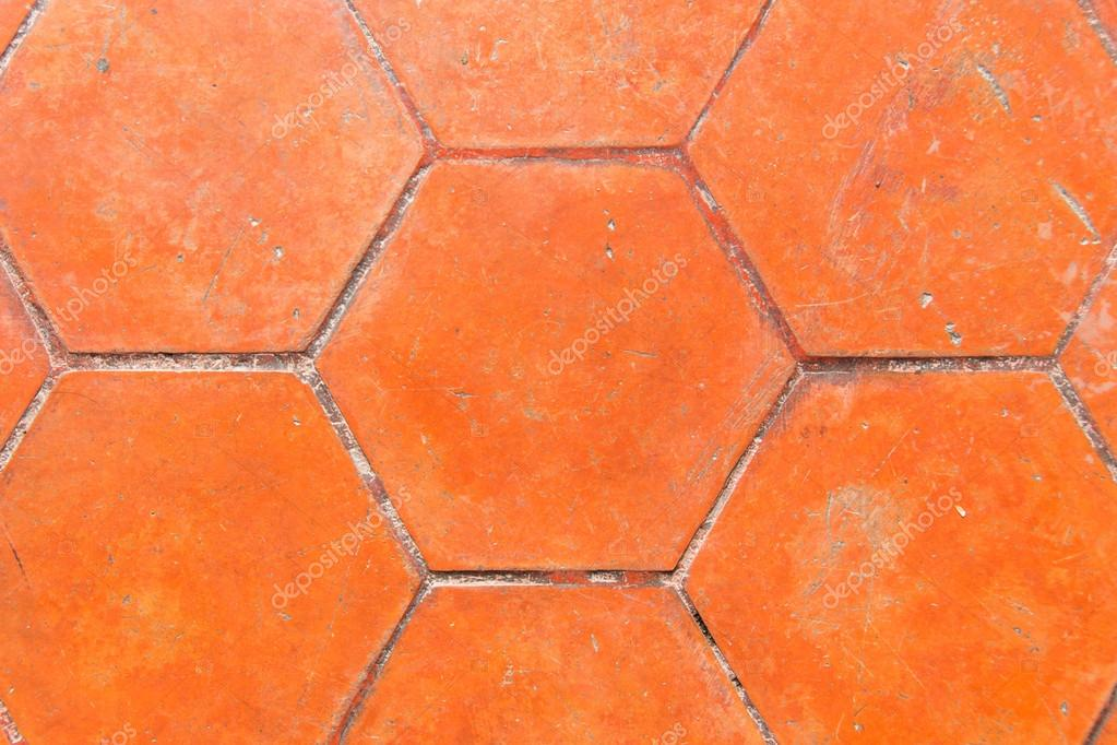 Brick ground texture in brown — Foto de Stock   #12122582