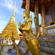 Golden Angel in Grand Palace, Thailand — Stock Photo