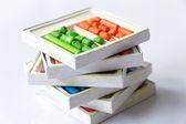 Crayones de cera vieja — Foto de Stock