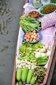 Tha kha mercato galleggiante — Foto Stock