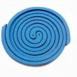 Mosquito repellent incense coil blue — Stock Photo