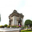 Patuxai monument in Vientiane, Laos — Stock Photo