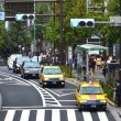 Car on road near Harajuku Station — Stock Photo #14678183