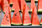 Slice of watermelon — Stock Photo