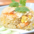 Royalty-Free Stock Photo: Fried rice with shrimp and crab,Thai cuisine