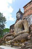 Buddha image in Sukhothai Historical Park, Thailand — Stock Photo