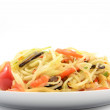 Papaya Salad,Thai Som Tam with crab - Stock Photo