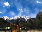 Blue moon valley at Lijiang, China — Stock Photo